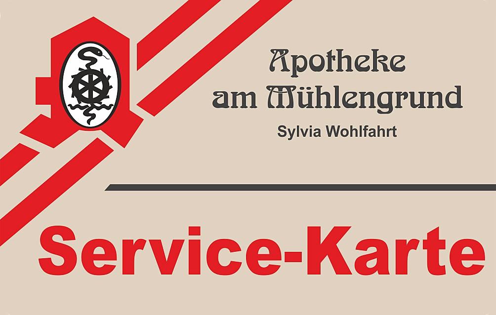 Servicekarte Apotheke am Mühlengrund